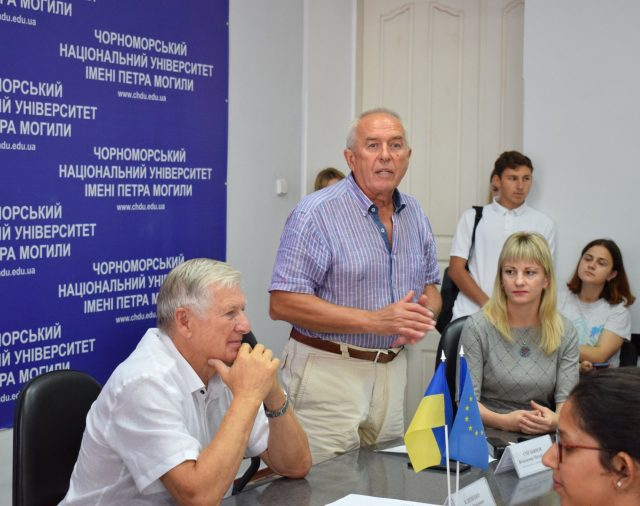"On September 5, 2019 the presentation of the Jean Monnet Project ""EU Governance and European Integration Policy"" took place at Petro Mohyla Black Sea National University."