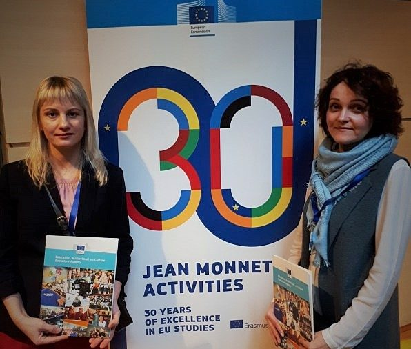 "The Coordinator of the Jean Monnet Module ""EU Governance and European Integration Policy"", Svetlana Soroka took part in a series of events of the European Commission in the framework of the ERASMUS + program in Brussels."
