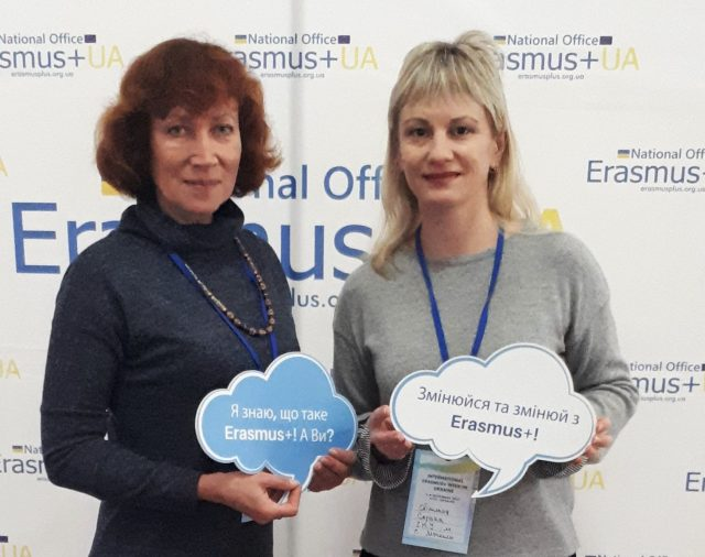 "On November 8, 2019 the coordinator of the Jean Monnet Module ""EU Governance and European Integration Policy"" Svetlana Soroka visited Jean Monet Erasmus Day +"