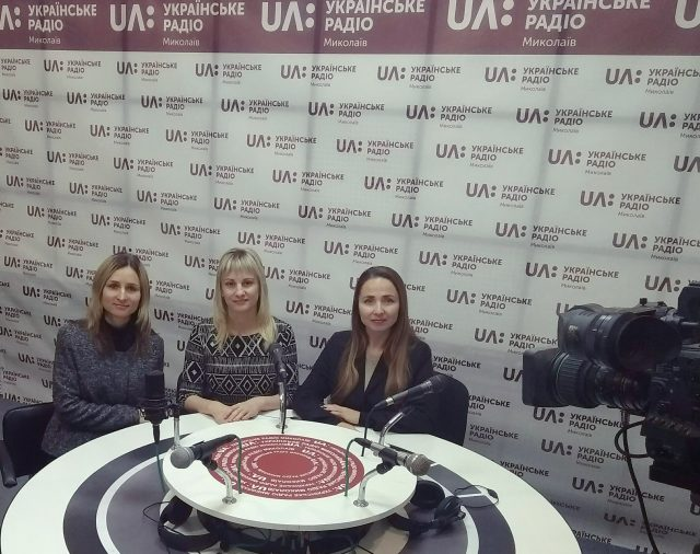 Jean Monnet's project staff members visited Ukrainian radio on November 25, 2019