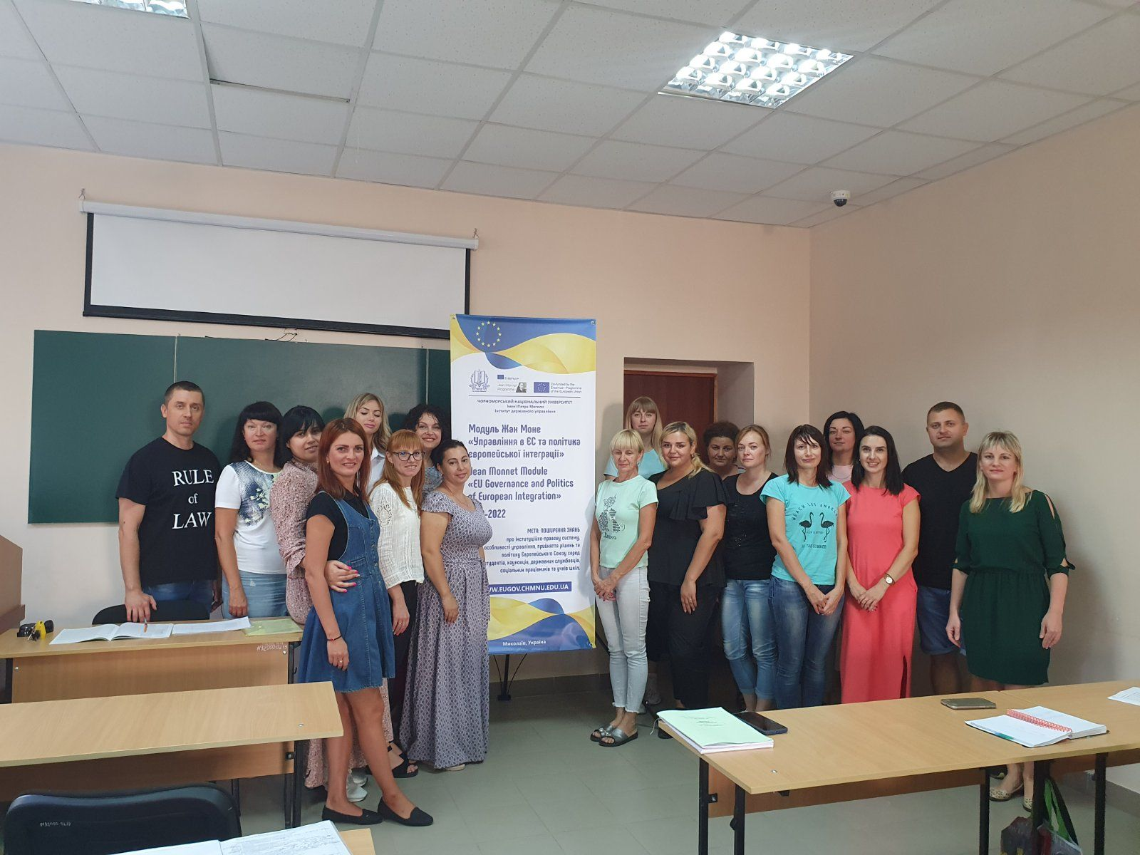 TEACHING TWO ACADEMIC COURSES OF THE JEAN MONNET MODULE (SEPTEMBER TO DECEMBER 2020)